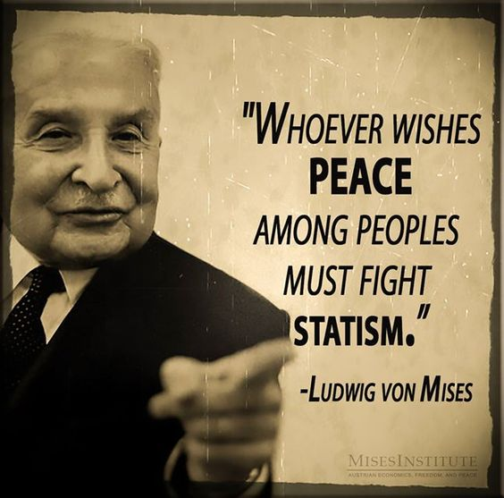 You can find more Ludwig von Mises quotes on War here: http://mises.org/library/mises-war-0: