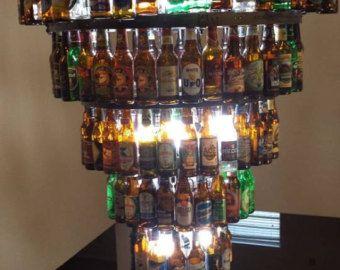 Lámpara de botella de cerveza por BigSwigDesign en Etsy