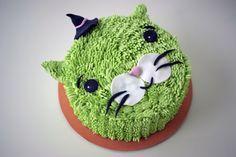 tarta facil de cumpleaños para niños gato