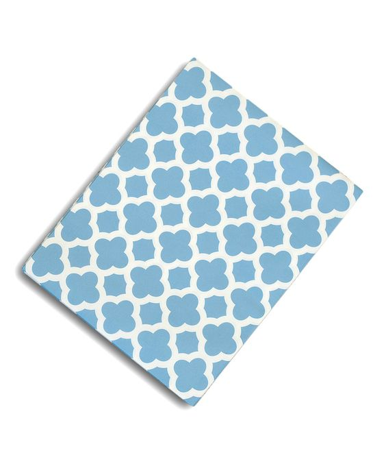 Look at this #zulilyfind! Blue Quatrefoil Table Runner by Expect Personality #zulilyfinds