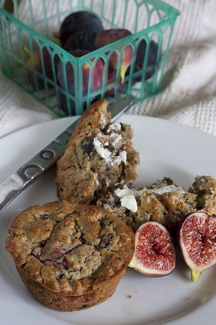 fig and chai muffin