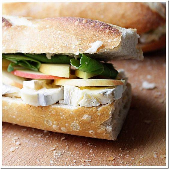 Apple Brie Sandwich