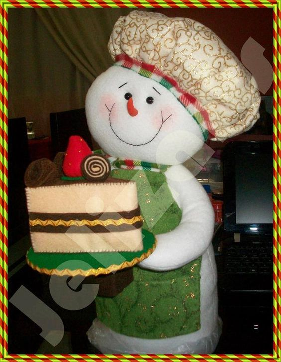 navidad moldes tela navidad navidad muecos linda navidad fieltro navidad mixtura navidad nieve pastelero de cocinero nieve vestido