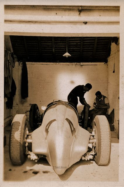 americabymotorcycle:  Mercedes Benz W125 - Richard Seaman - dnf Donnington GP 2 Oct 1937 by Rally Pix on Flickr.