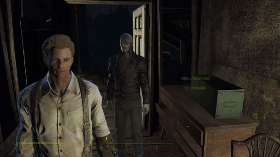 My seventh character on FO4 and this game still isn't getting old to me. Paul Lagam and Nick Valentine. #Fallout4 #gaming #Fallout #Bethesda #games #PS4share #PS4 #FO4