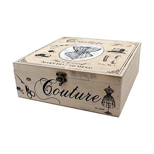 KANGURU Collection Midi Peonie//Peony Decorative Storage Box with Handles and Lid Multi-Colour