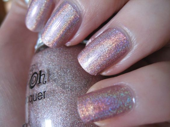 Holographic #nail #lacquer ~