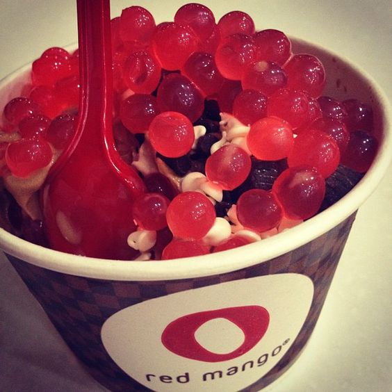 #redmango #poppingboba -- can you handle it?