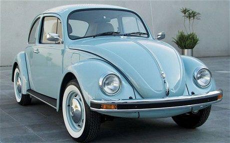 light blue,Original Volkswagen Beetle, telegraph.co.uk