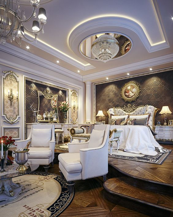 Muhammad taher luxury master bedroom for Expensive bedroom designs