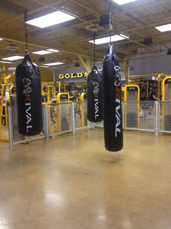 Heavy Bag Room, Golds Gym