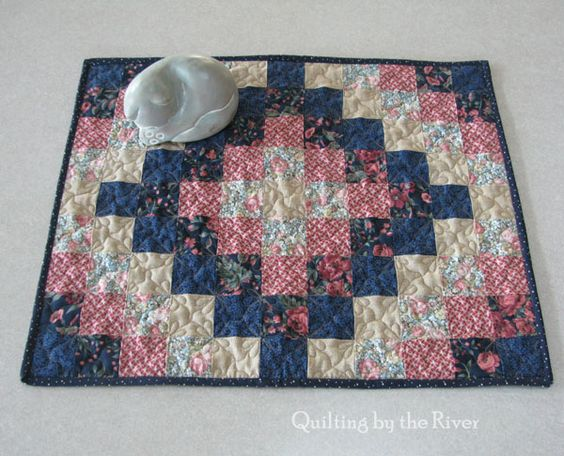 Quilting by the River: Around the World UFO - fast tutorial