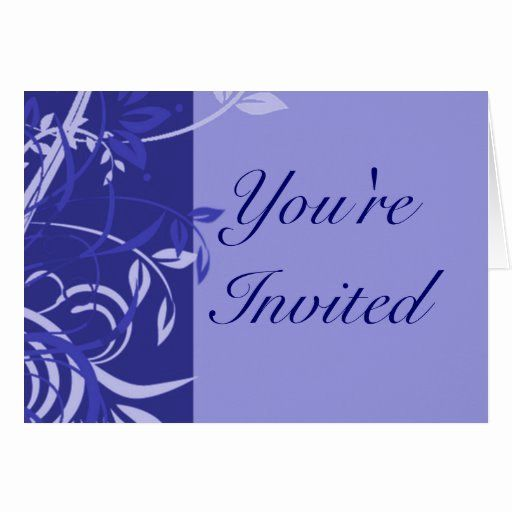 You Are Invited Template Unique Template Rsvp You Re Invited Blue Card Printable Invitation Templates Invitations Printable Invitations