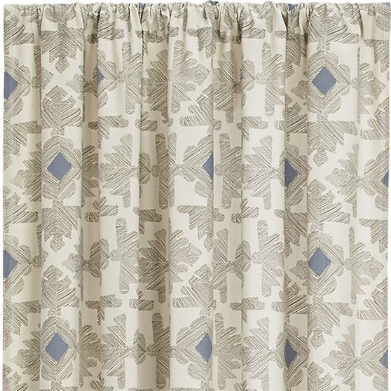 Sketch Curtain Panel | Crate and Barrel | Home Goods | Pinterest ...