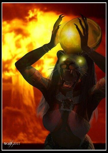 Sekhmet the 'eye of Ra'