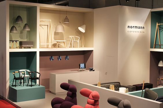 The Normann Copenhagen Stand @ Salone Del Mobile Milano 2012