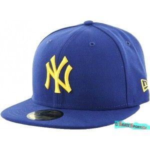 c786fc7fa65 Pánské kšiltovky New Era - Seas Cont mlb New Yankees dark royal-gold. http
