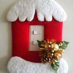 O artesanato dominando o natal:
