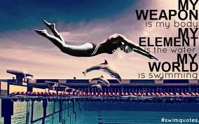 Have regional swim meet this week. swam today and dropped 1 sec on my breast stroke! But no state cut :( I still have tomorrow and Sunday to look forward to swim again!;)