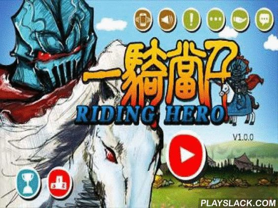 Riding Hero Knight Dash  Android Game - playslack.com , Riding Hero: Knight Dash - direct a hero riding a stallion, which hurries on battle. Jump over obstructions and beat off from foes who block your path. gather gold and alcohol by means of which you turn into the unconquerable equestrian to move out captious assualt. There are four seasons moving , season, plummet and Winter.