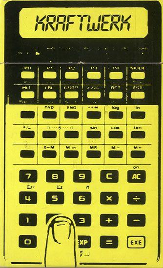 Kraftwerk,Pocket Calculator,UK,Deleted,CASSETTE SINGLE,8451