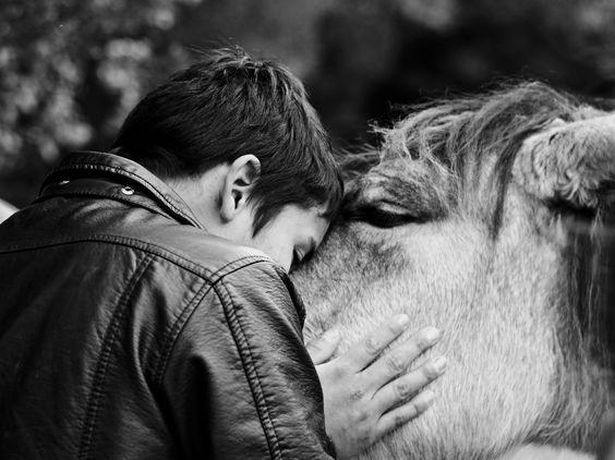Abrazo, el cariño entre 2 vidas.