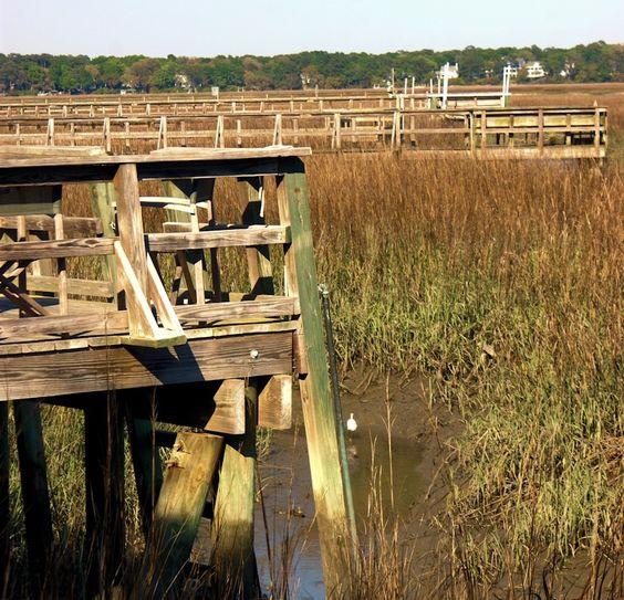The Inland waterway - Beaufort, South Carolina