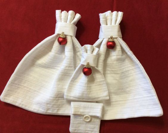Fabric Gift Bags & More Repurposed Upcycled by GiftGarbBags
