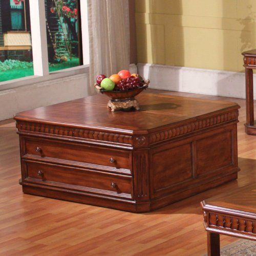37-04 Lift-Top Cocktail Table by Parker. Save 13 Off!. $538.65. Sturdy poplar hardwood and birch veneers. Dimensions: 42W x 42D x 20H inches. Rich pecan finish. Gorgeous traditional style. 1spacious drawer, handy lift top and rolling casters. The Parker House Square Lift Top Cocktail Table with Drawer is a glorious mass of potential. This piece boastsone drawer and rolling casters, but it's the lift top which truly sets it apart, bringing unique versatility into play for all...