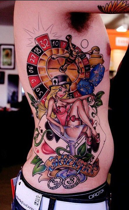 casino tattoos