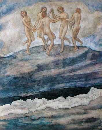 Pinturas de Khalil Gibran! Mark Swiiter