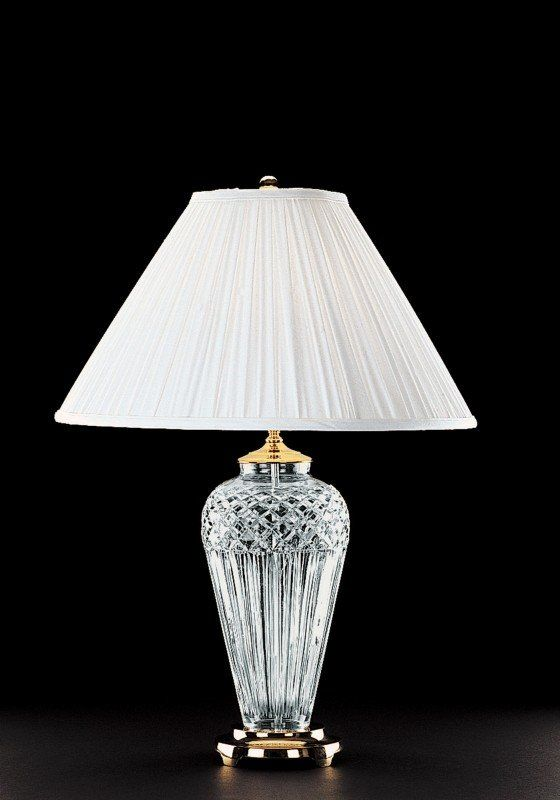 Beauty Waterford Crystal Table Lamps, Waterford Crystal Table Lamp Shades
