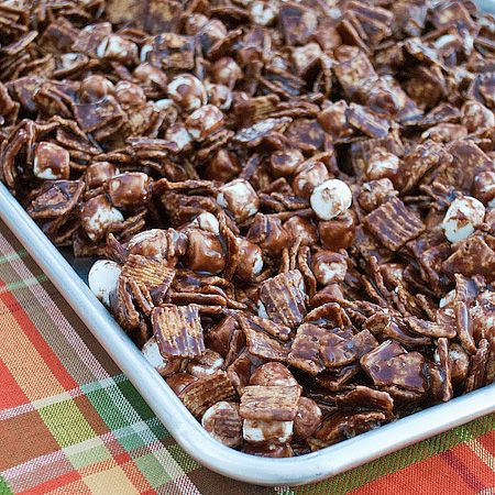 S'mores Mix - like Chex Mix, but better