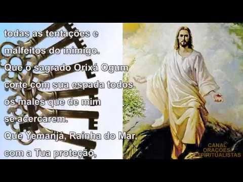 Tradicional Oracao Das 7 Chaves De Felicidade Youtube Oracao