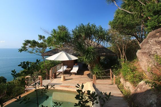 Hill Top Pool villa.