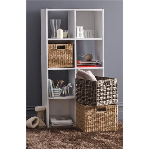 Homemaker 8 Cube Storage Unit White Size 60cm W X 122cm H Bookshelves Kmart Bookcases