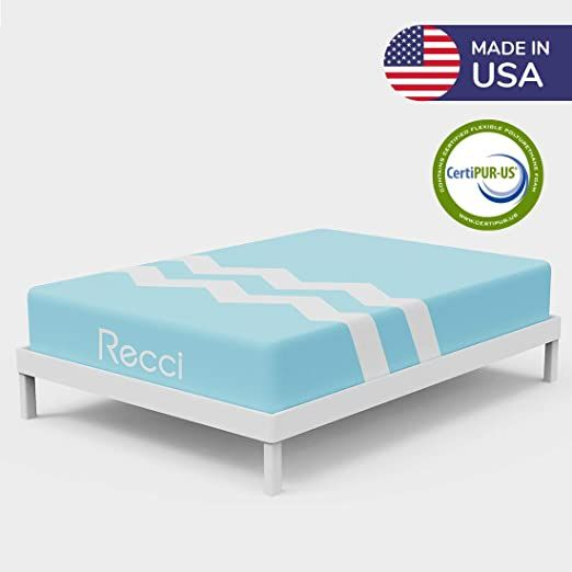 Recci 10 Inch Twin Mattress Bed In A Box Breathable Amp Cool No Quick Sand Feel Just Right Comfort Amp Support Inn In 2020 Box Bed Twin Mattress Foam Mattress