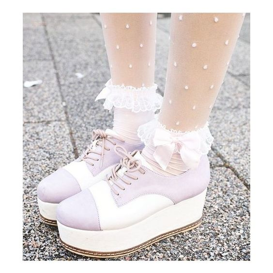 QUEER PUNK PASTEL GOTH ❤ liked on Polyvore featuring shoes