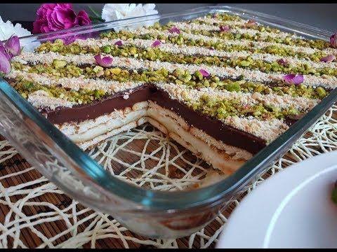 حلى البفاريا سهل وسريع وطعم رهيييب وراقي لضيوفك الغالين Youtube Food Desserts Sweets