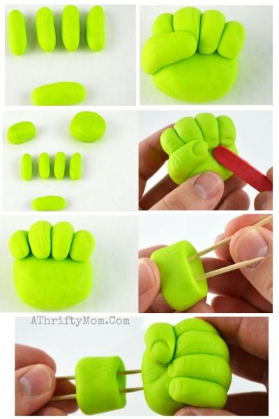 Hulk Smash Cupcakes Easy Superhero Party Ideas Avengers