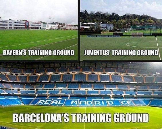 Tak wygląda nowe boisko treningowe FC Barcelony • Zabawne memy po sobotnim El Clasico • Barcelona grała tutaj jak na treningu >>