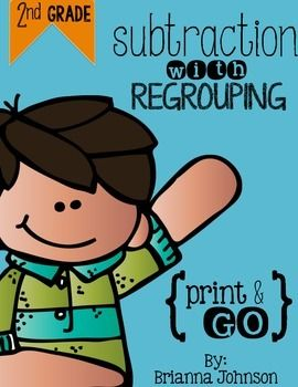 3-Digit Subtraction with Regrouping {FREEBIE}**This is part of my ...