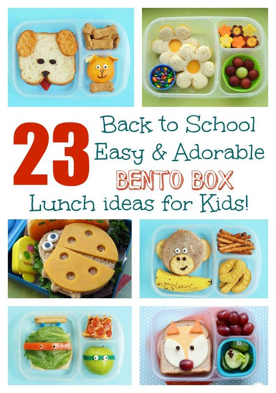 23 easy adorable back to school bento box lunches our kids my boys and for kids. Black Bedroom Furniture Sets. Home Design Ideas