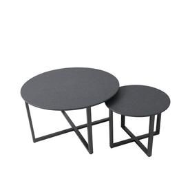 Allen Roth A R Sinclair Round Nesting Tables Fts90492 Outdoor Coffee Tables Round Coffee Table