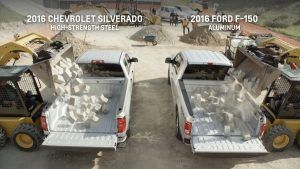 Ford F-150 vs. Chevy Silverado | Brass Hat Leasing   Good marketing made a difference for General Motors in its latest marketing skirmish with Ford. In June, the Chevrolet Silverado took more of the U.S. full-size pickup sales for any month since January.