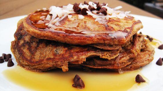 Almond Joy Pancakes 003