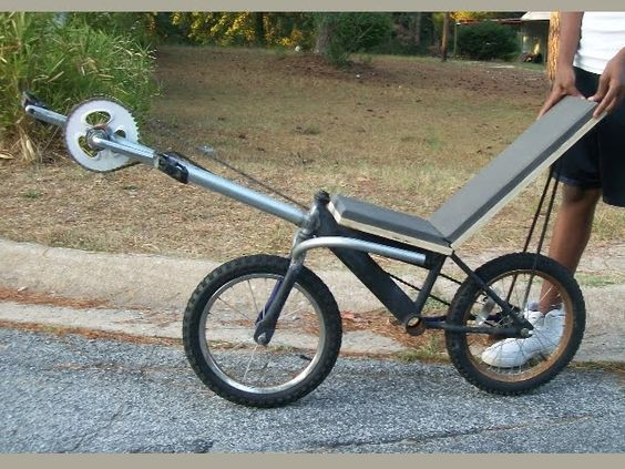 Microbent Clwb Recumbent By Fred Fincher Usa The Most Ingenious Diy Bike I Ve Ever Seen By Bevin Chu Taipei China Recumbent Bicycle Bicycle Diy Bike Design