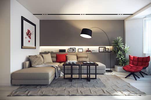 10 Colores Fabulosos Para Pintar Las Paredes De Una Sala Pequena Decoracion De Salas Pequenas Decoracion De Salas Y Sofa De La Sala