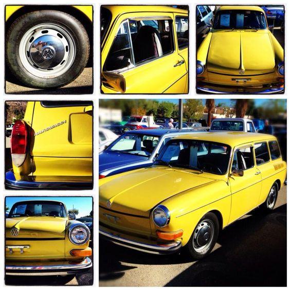 Volkswagen Type 3  #vintagecar