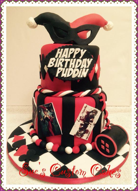 Dc Harley Quinn Cake Ideas